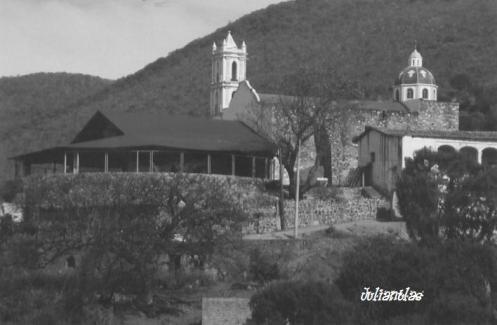 Iglesia de Nuestra Señora del Rosario en Juliantla