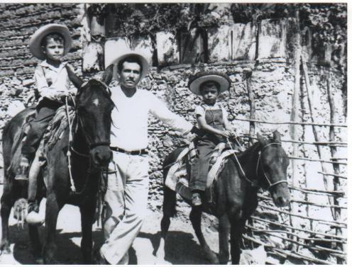 Jorge Ocampo a Caballo