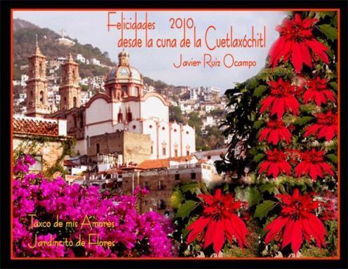 Taxco Cuna de la Cuetlaxochitl