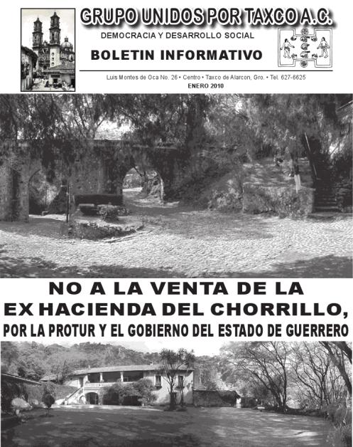 Ex-Hacienda del Chorrillo!