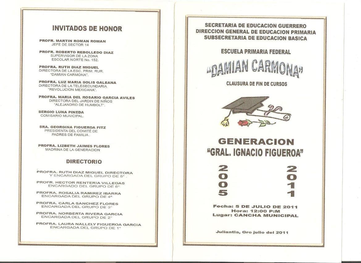Ceremonia De Clausura Ciclo Escolar 2006 07generacion2004 07 Pictures